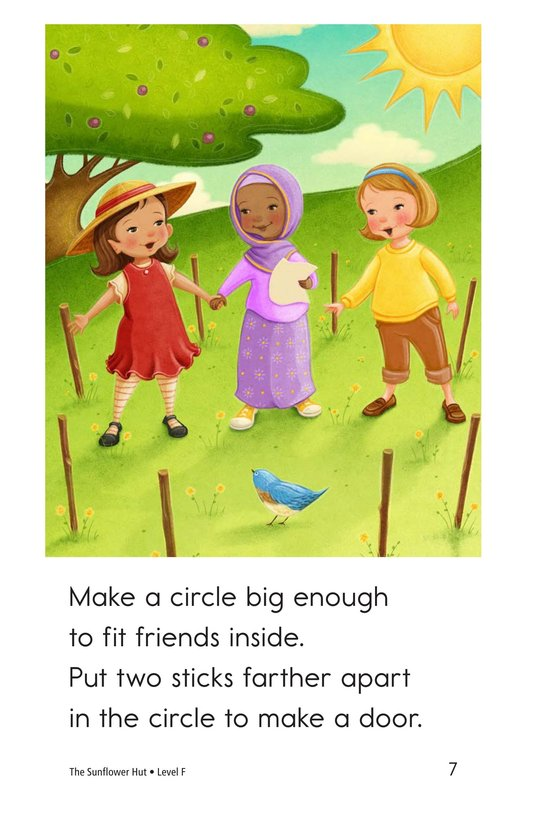 Book Preview For The Sunflower Hut Page 7