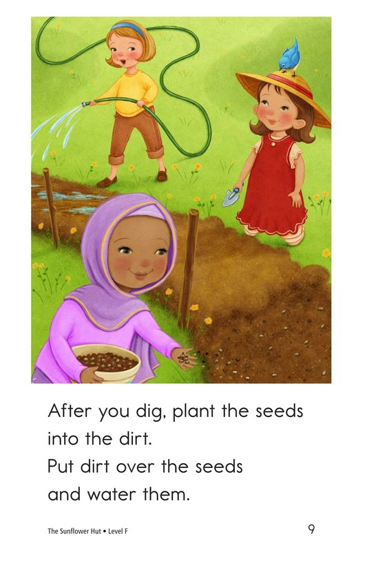 Book Preview For The Sunflower Hut Page 9