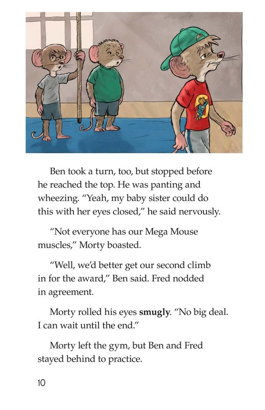 Book Preview For Morty and the Twice-Fit Mice Page 10