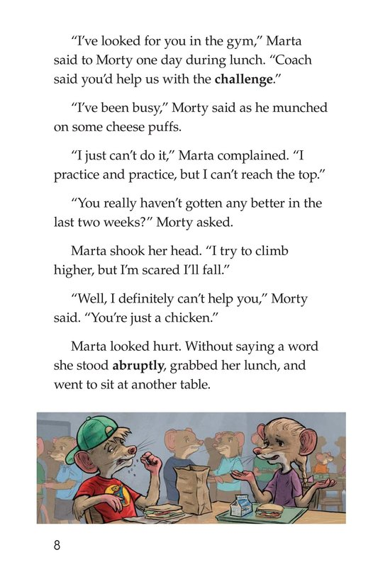 Book Preview For Morty and the Twice-Fit Mice Page 8