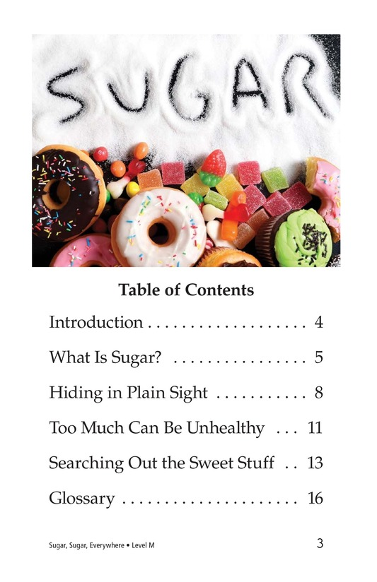 Book Preview For Sugar, Sugar, Everywhere Page 3