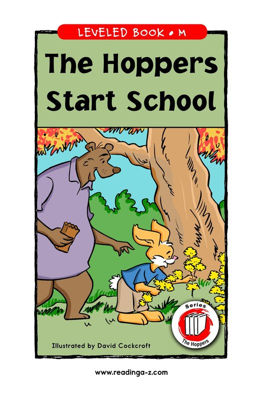 Book Preview For The Hoppers Start School Page 1