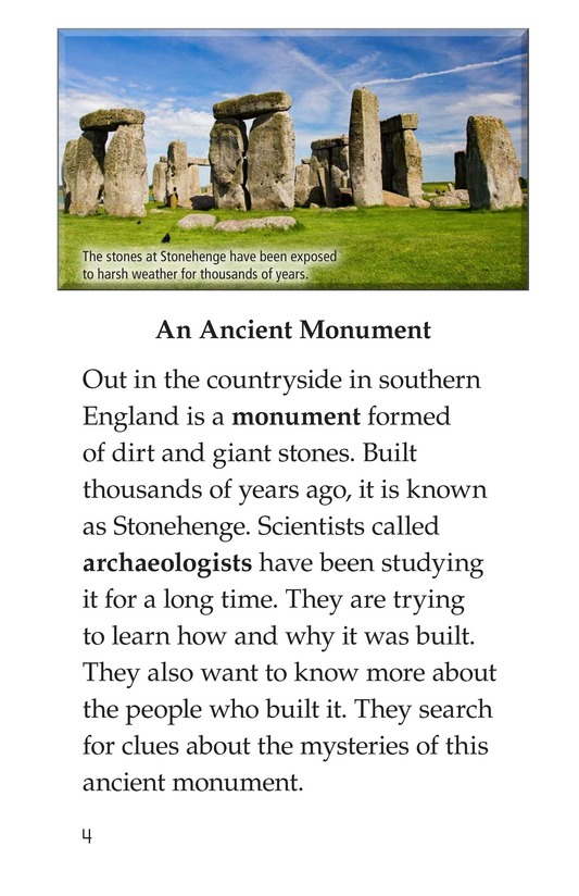 Book Preview For Stonehenge Page 4