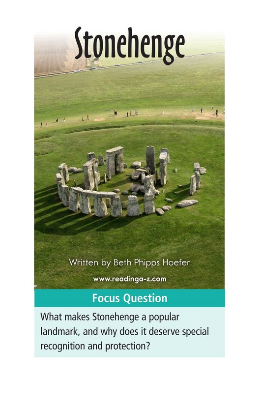 Book Preview For Stonehenge Page 1