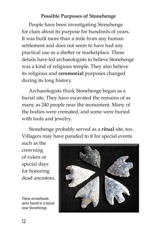 Book Preview For Stonehenge Page 12