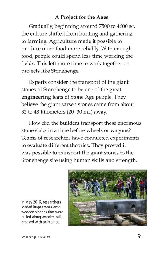 Book Preview For Stonehenge Page 9