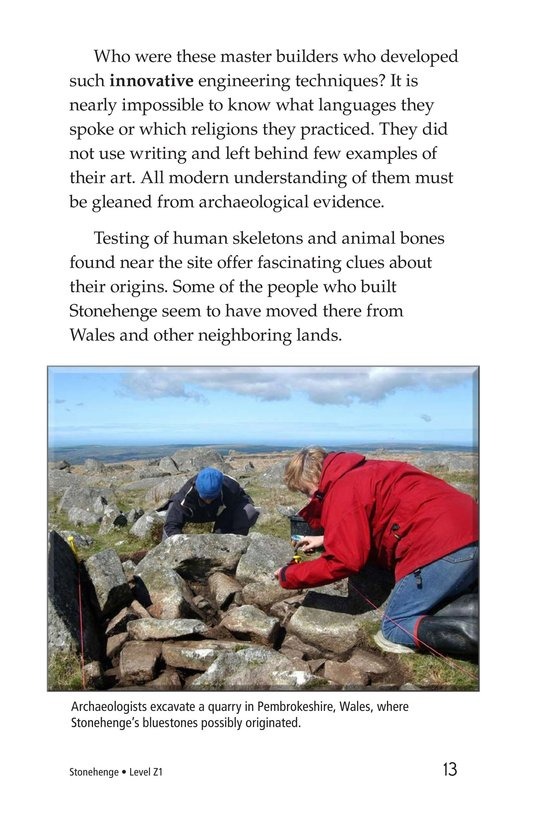 Book Preview For Stonehenge Page 13