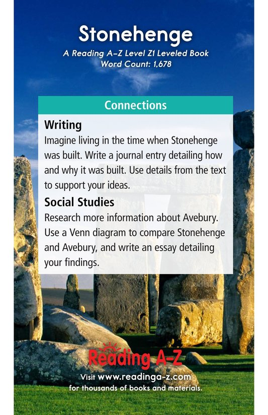 Book Preview For Stonehenge Page 21