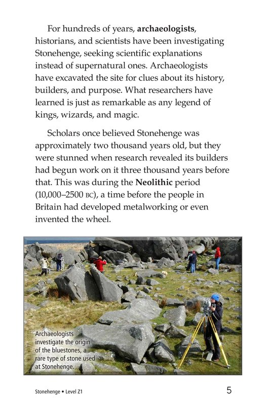Book Preview For Stonehenge Page 5