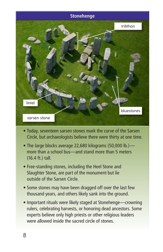 Book Preview For Stonehenge Page 8