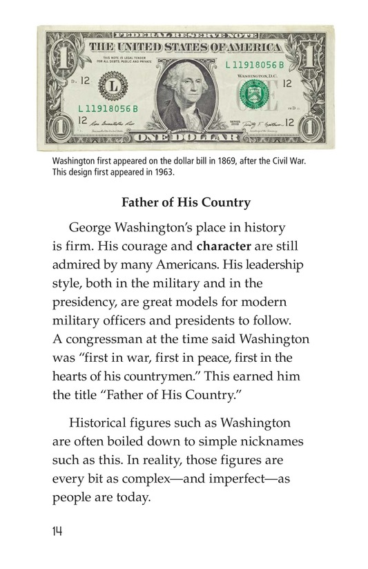 Book Preview For George Washington Page 14