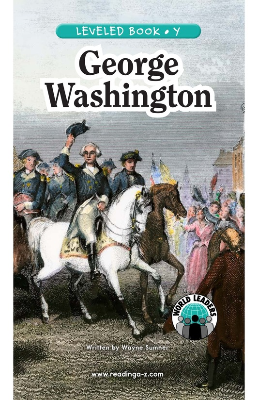 Book Preview For George Washington Page 0
