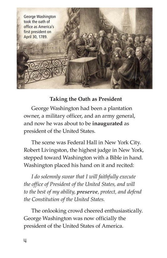 Book Preview For George Washington Page 4