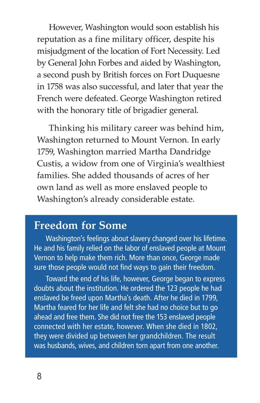 Book Preview For George Washington Page 8