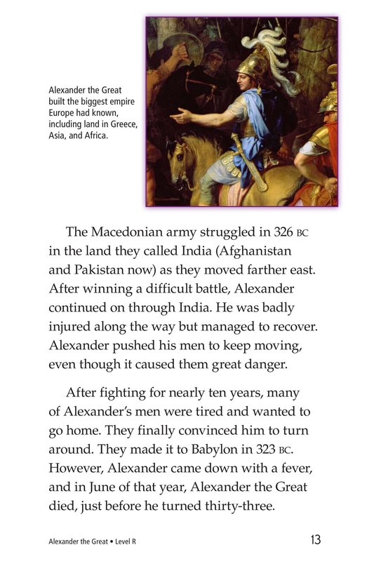 Book Preview For Alexander the Great Page 13