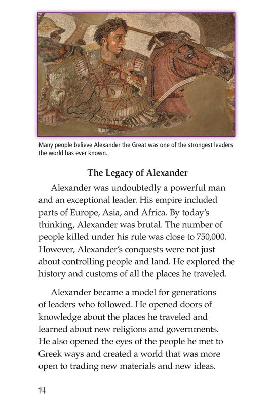 Book Preview For Alexander the Great Page 14