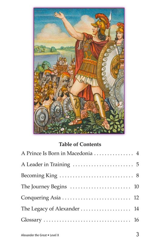 Book Preview For Alexander the Great Page 3