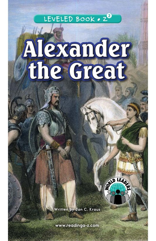Book Preview For Alexander the Great Page 0
