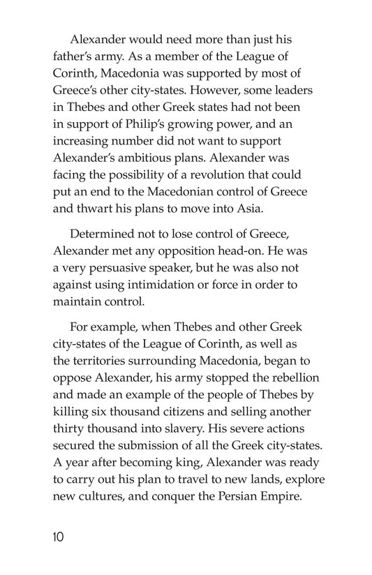 Book Preview For Alexander the Great Page 10
