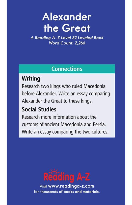 Book Preview For Alexander the Great Page 21