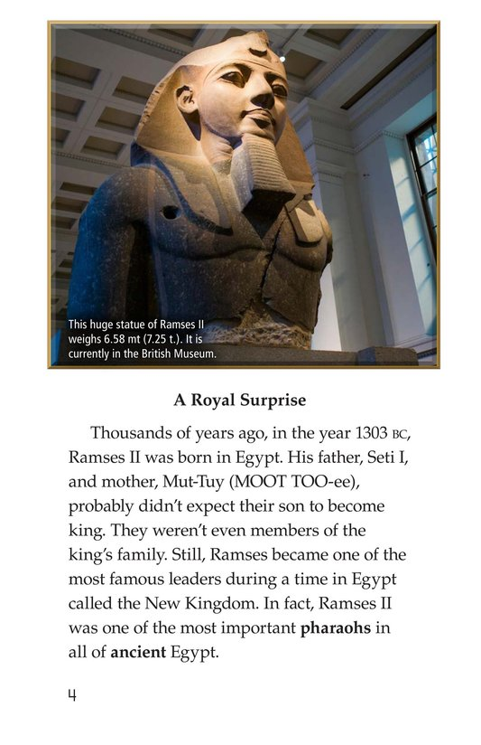 Book Preview For Ramses II Page 4