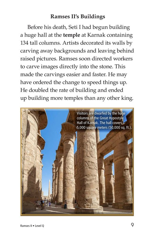 Book Preview For Ramses II Page 9