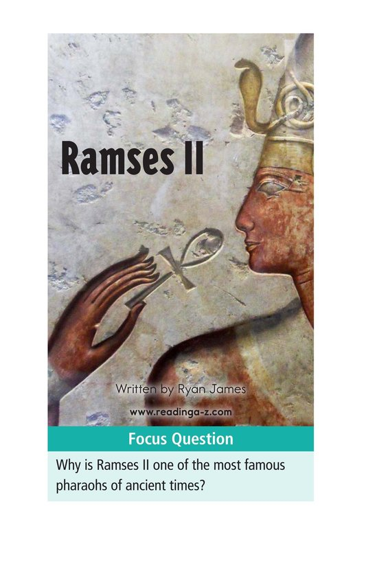 Book Preview For Ramses II Page 1