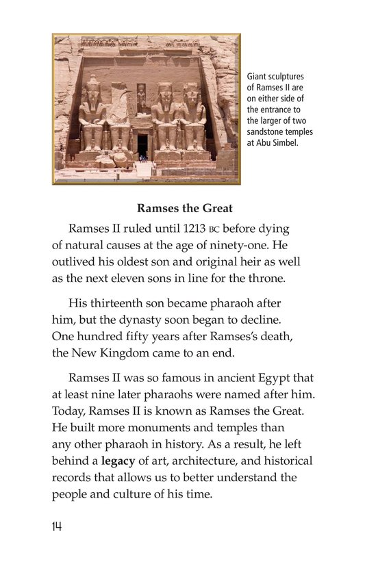 Book Preview For Ramses II Page 14