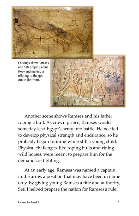 Book Preview For Ramses II Page 7