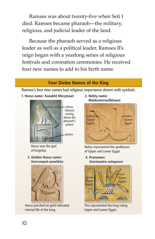 Book Preview For Ramses II Page 10