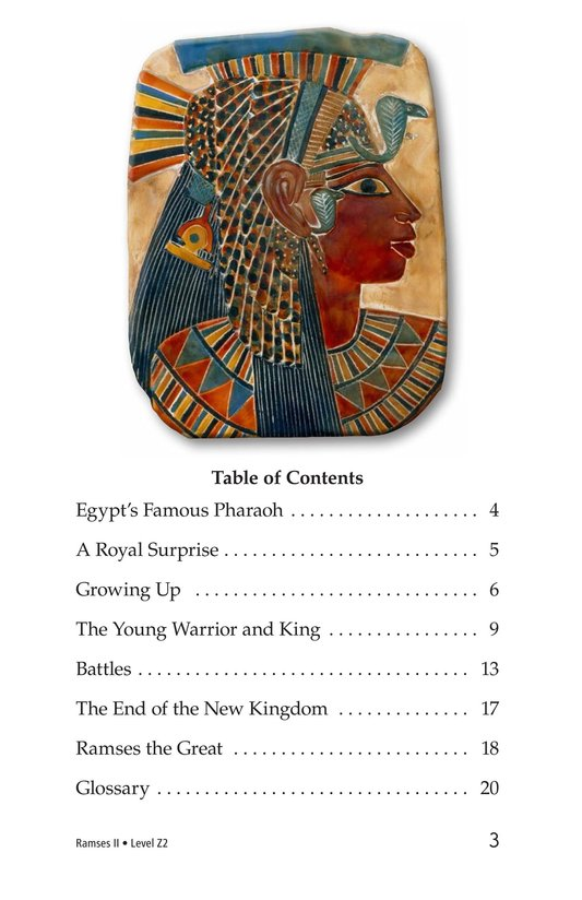 Book Preview For Ramses II Page 3
