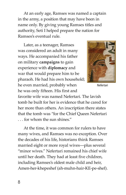 Book Preview For Ramses II Page 8
