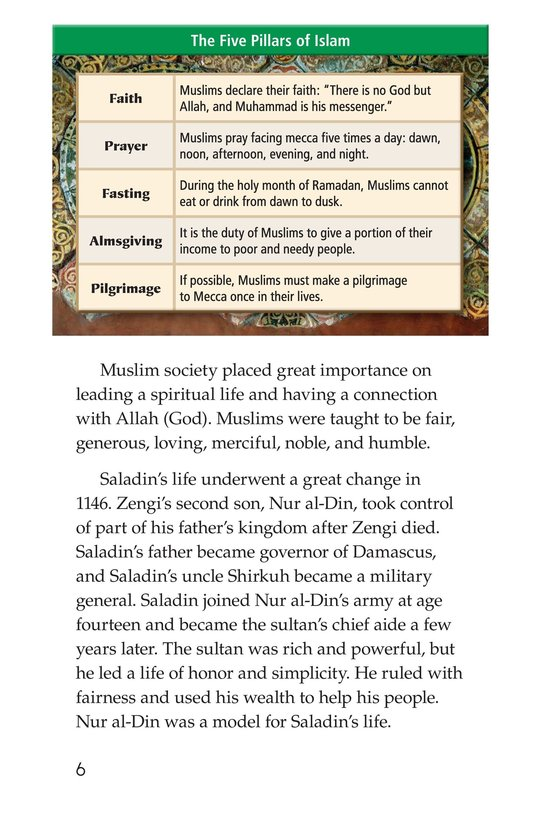 Book Preview For Saladin Page 6