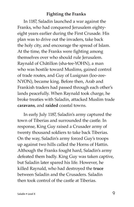 Book Preview For Saladin Page 9
