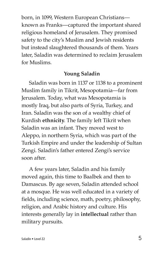 Book Preview For Saladin Page 5