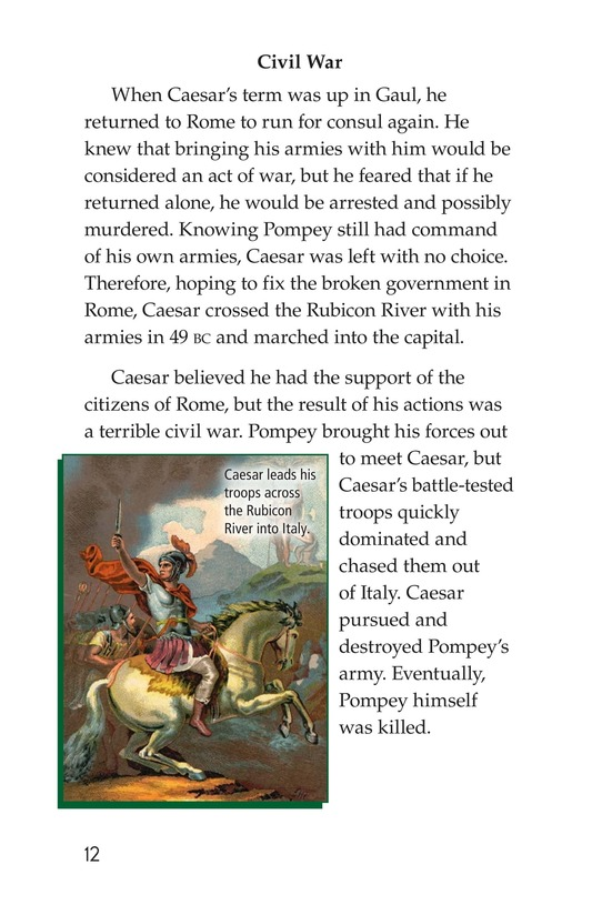 Book Preview For Julius Caesar Page 12