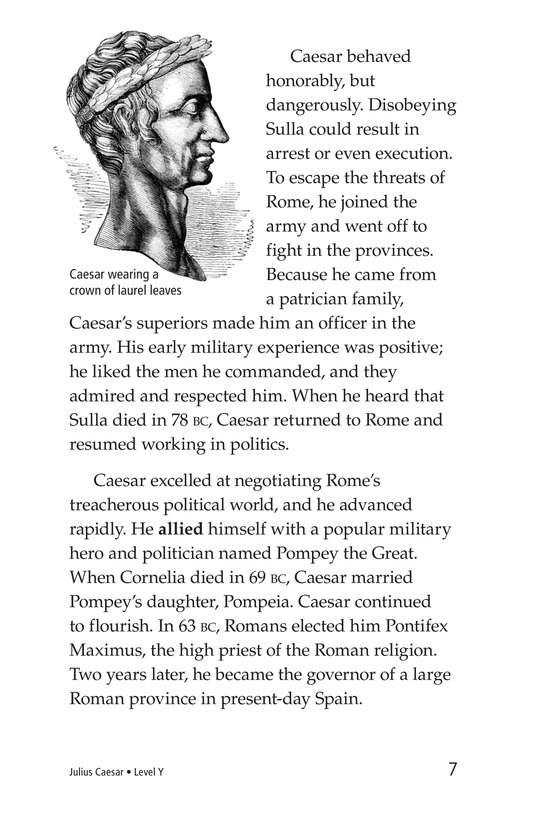Book Preview For Julius Caesar Page 7
