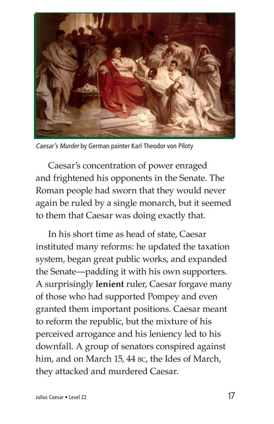 Book Preview For Julius Caesar Page 17