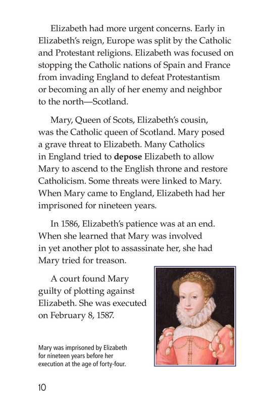 Book Preview For Queen Elizabeth I Page 10