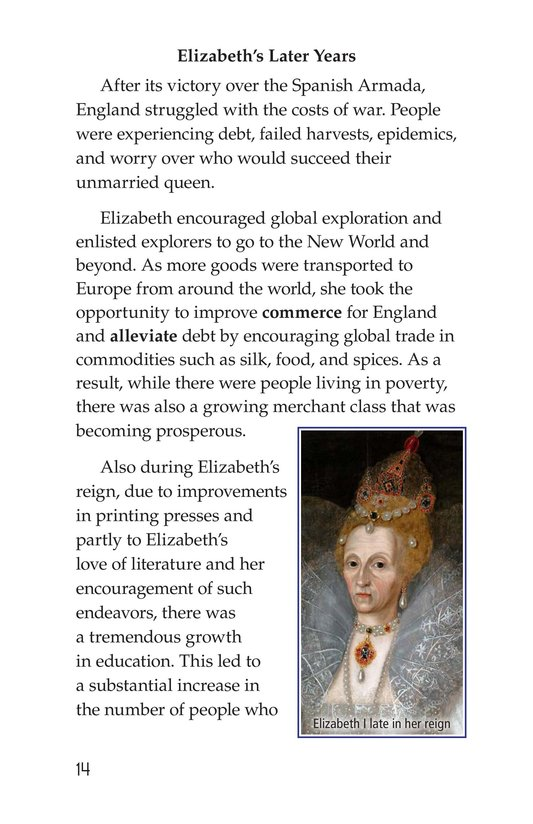 Book Preview For Queen Elizabeth I Page 14