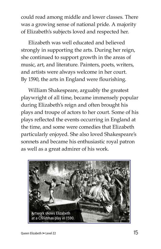 Book Preview For Queen Elizabeth I Page 15
