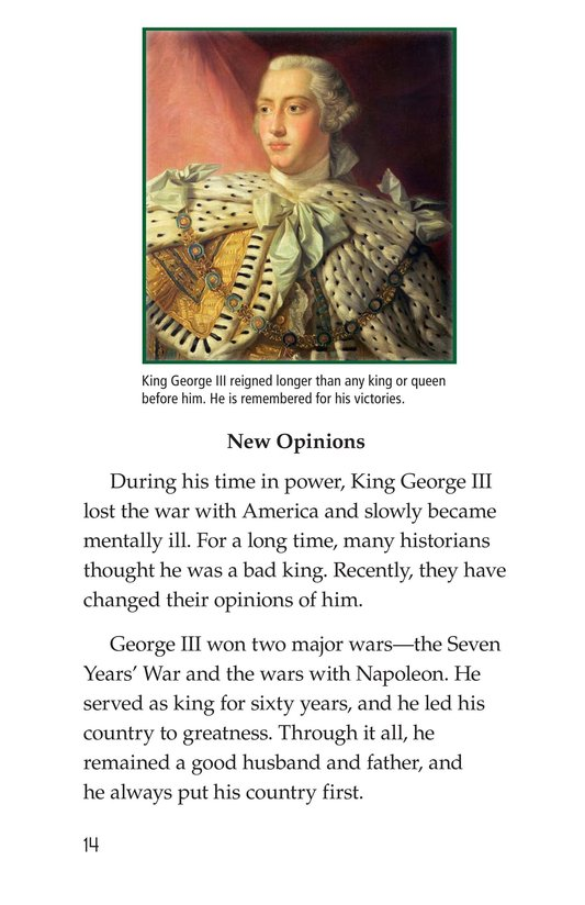 Book Preview For King George III Page 14
