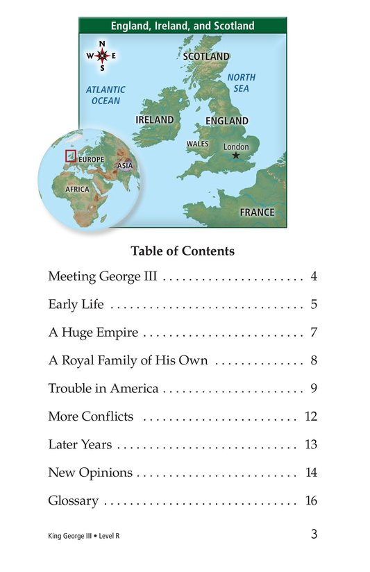 Book Preview For King George III Page 3