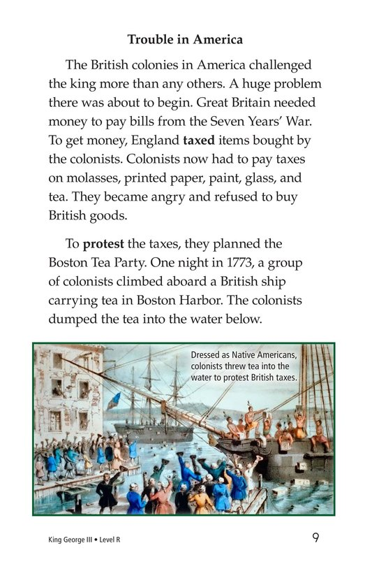 Book Preview For King George III Page 9