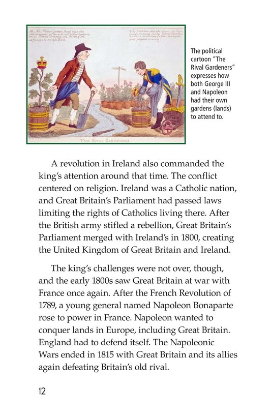 Book Preview For King George III Page 12