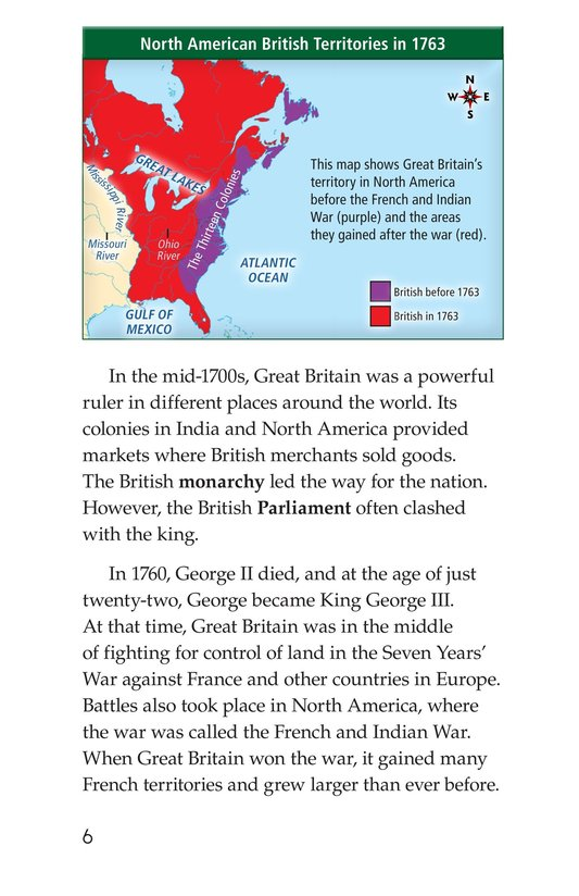 Book Preview For King George III Page 6