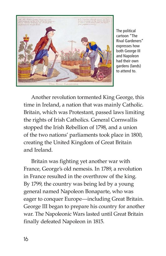 Book Preview For King George III Page 16