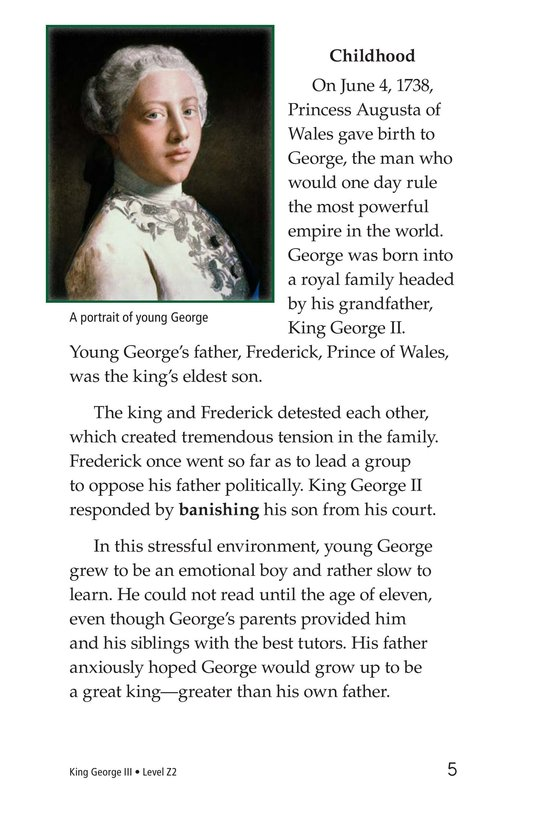 Book Preview For King George III Page 5