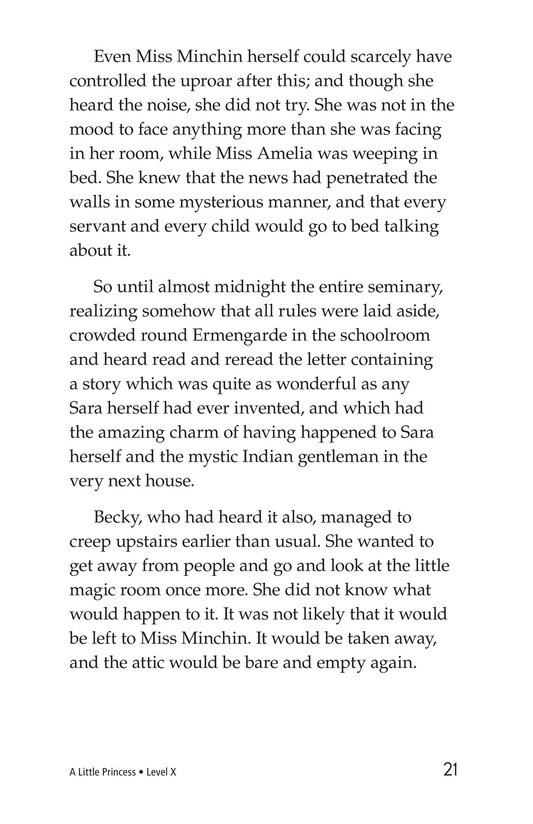 Book Preview For A Little Princess (Part 21) Page 21