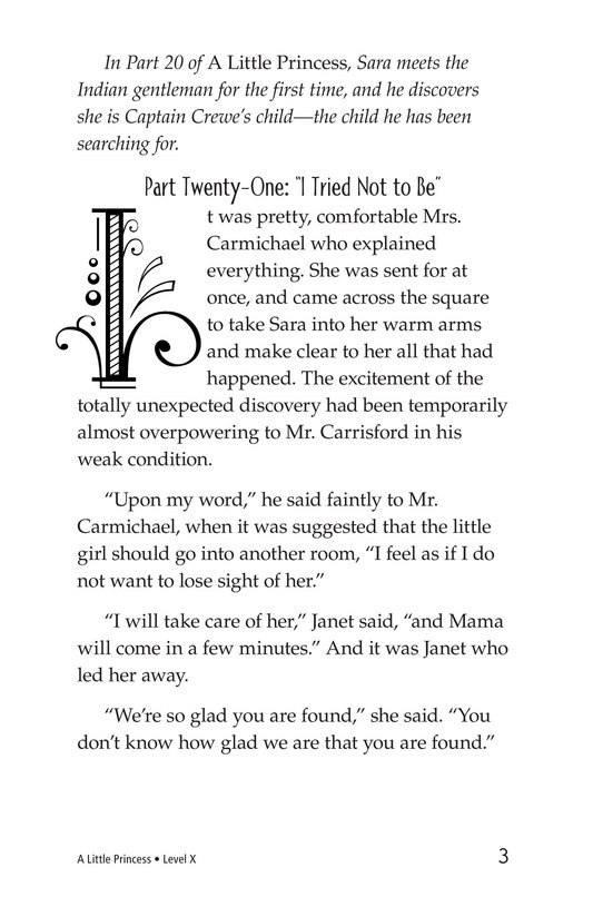 Book Preview For A Little Princess (Part 21) Page 3